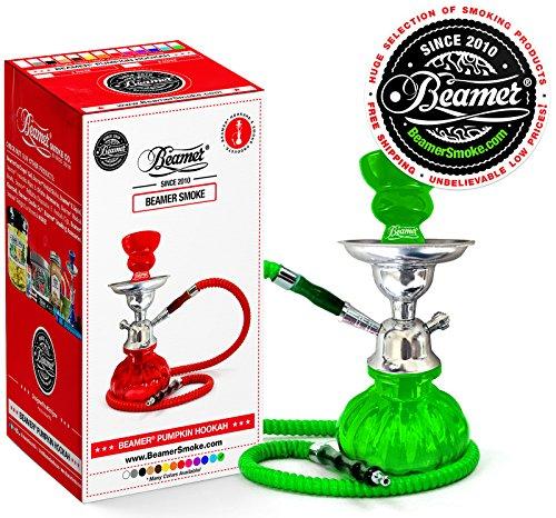 U-Pick-Color-Green-Beamer-Pumpkin-Hookah-Set-Limited-Edition-Beamer-Sticker