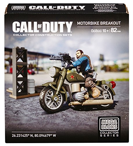 Mega Bloks Call Of Duty Motorbike Breakout - 1