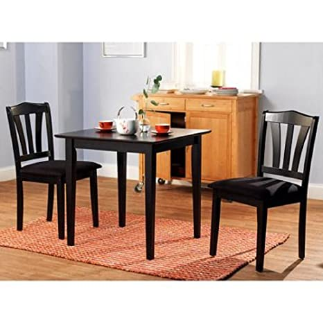 Metropolitan 3 Piece Multiple Finishes Dining & Table Set