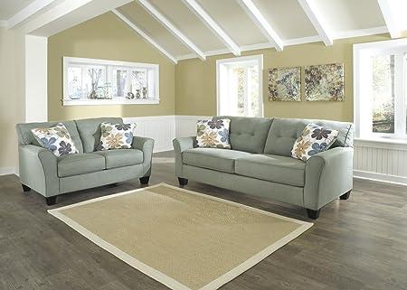 Contemporary Sofa in Lagoon