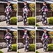 2014年夏モデル】レディース浴衣3点セット作り帯がセットで簡単着付け《選べる帯2タイプ》高級絞り黒地に花団子(《作り帯》ピンク系)