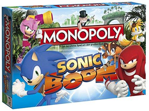 Winning Moves 44321 – Monopoly Sonic Boom Brettspiel