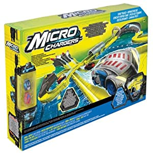 Micro Chargers Track Time Race Track With 2 Cars!
