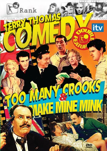 Cover art for  Terry Thomas Double Feature: Too Many Crooks & Make Mine Mink