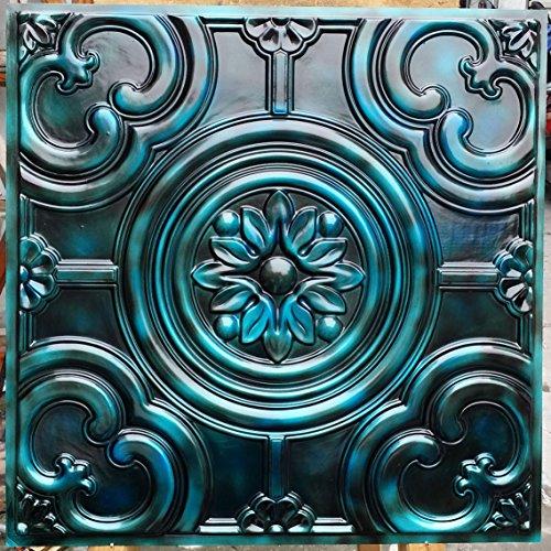 PL50en plusieurs finitions disponibles: Antique plafond Panneaux muraux décoration carrelage en relief fond photosgraphie 10pieces/Lot