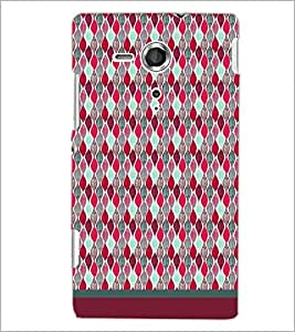 PrintDhaba Pattern D-1718 Back Case Cover for SONY XPERIA SP (Multi-Coloured)