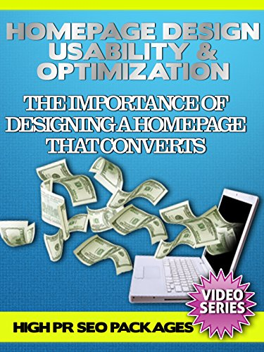 Homepage Design Usability & Optimization - The Importance Of Designing A Homepage That Converts