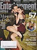 Entertainment Weekly June 13, 2014 Michael Sheen & Lizzy Caplan Masters of Sex