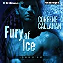 Fury of Ice: Dragonfury, Book 2 (       UNABRIDGED) by Coreene Callahan Narrated by Benjamin L. Darcie