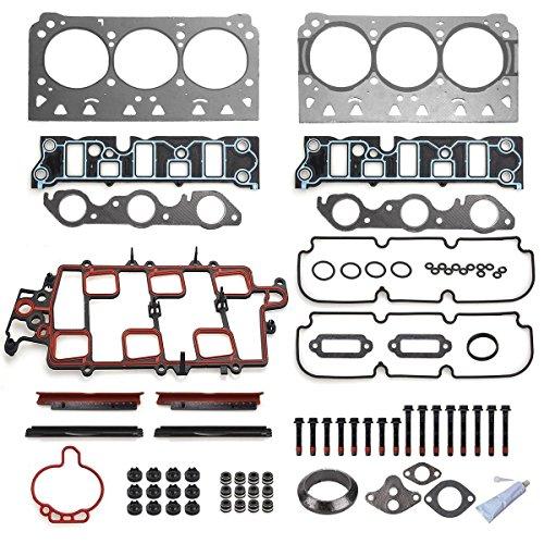 PartsSquare 97-05 Buick Chevy Oldsmobile Pontiac 3.8L VIN 1 2 K Head Gasket Set + Head bolt (97 Buick Intake Manifold compare prices)