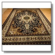 8x11 Persian Style Rug Oriental Rug Black