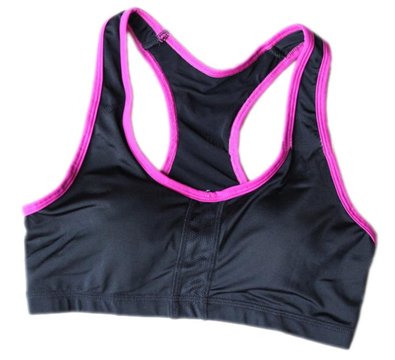 La vogue Damen Sport Bh ohne Bügel Tank Top Body Fitness Bra