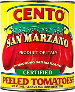 Cento San Marzano Certified Tomatoes, 28-Ounce Cans (Pack of 12)