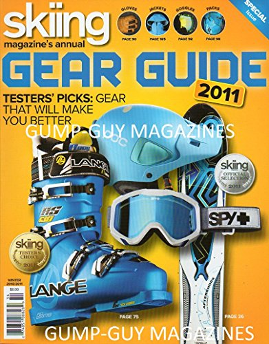 Skiing Magazine Annual 2011 GEAR GUIDE Testers' Picks: Gear That Will Make You Better (Guide Gear Insulated Pants compare prices)