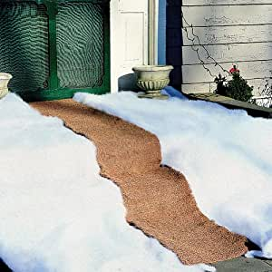 Ice Carpet Mat - Winter Weather Snow Safety - Non Slip Walkway over Snow