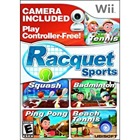Racquet Sports with Camera: Video Games