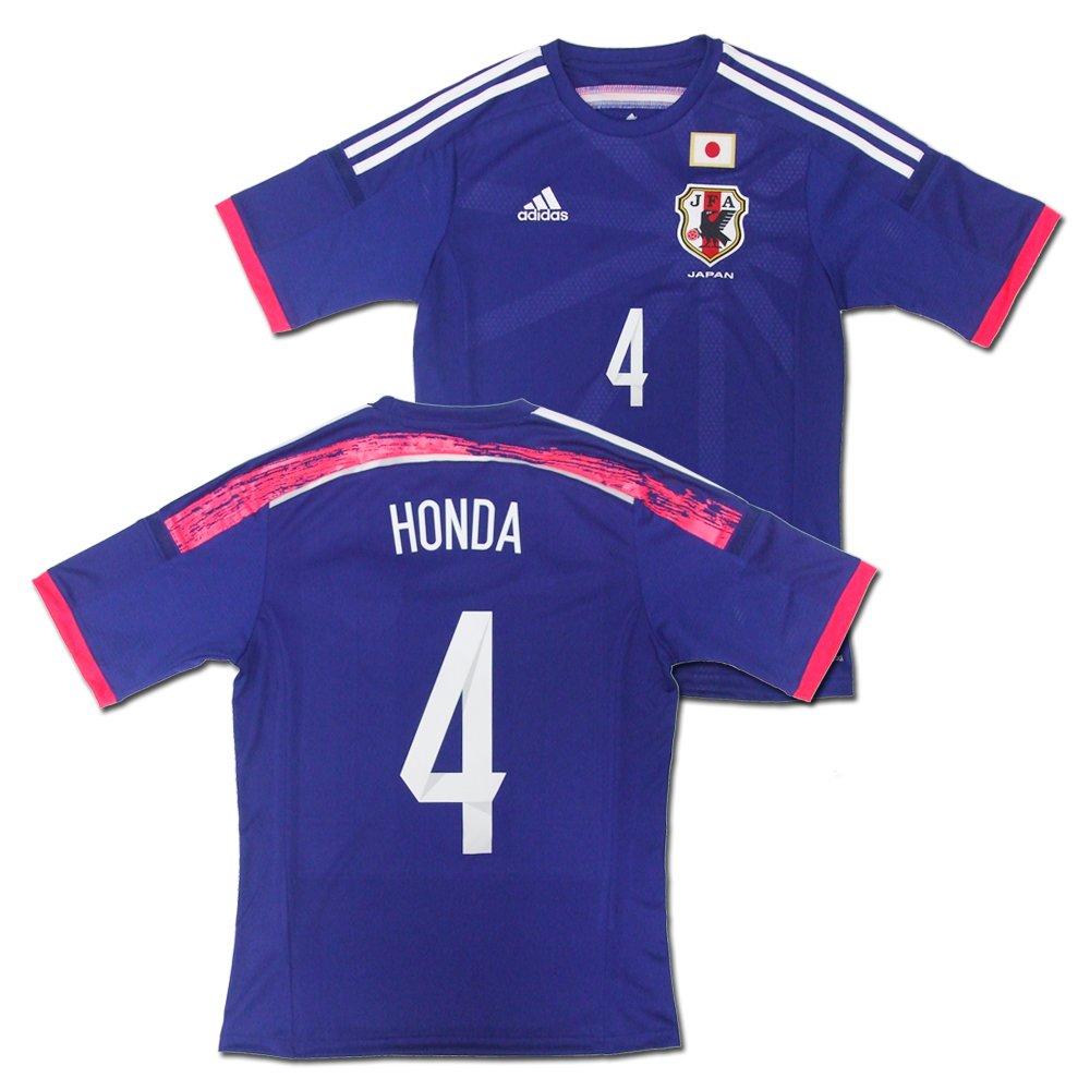 adidas(アディダス) サッカー日本代表 2014 ホーム レプリカ ユニフォーム 半袖 No.4 本田圭佑 G85287/4.HONDA