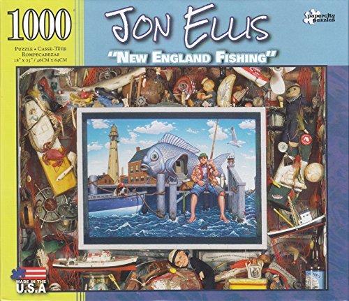New England Fishing By Jon Ellis 1000 Piece Puzzle