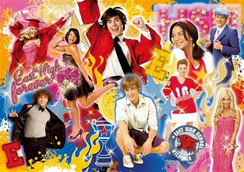 Clementoni 29555 - High School Musical East High Forever 250 Teile