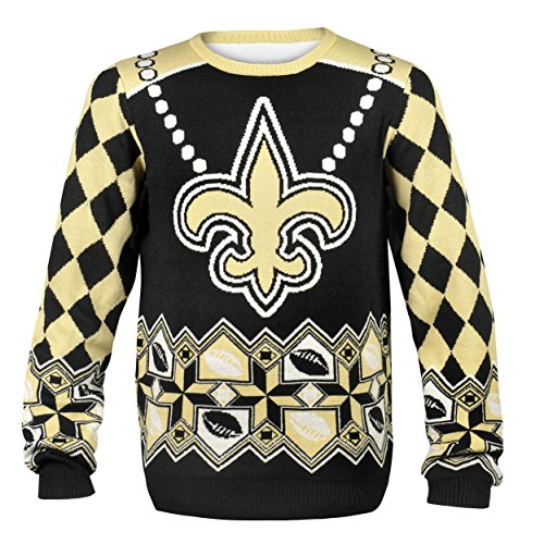 Saints Drew Brees #9 Ugly Sweater