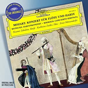 Mozart Flute And Harp Concerto by Import Music Services
