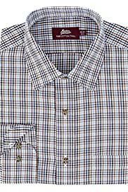 Pure Cotton Mini Traditional Checked Twill Shirt [T11-1831-S]