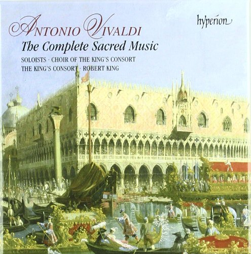 Antonio Vivaldi: The Complete Sacred Music [Box Set] by Antonio Vivaldi, Giovanni Maria Ruggieri, Robert King, King's Consort and James Bowman