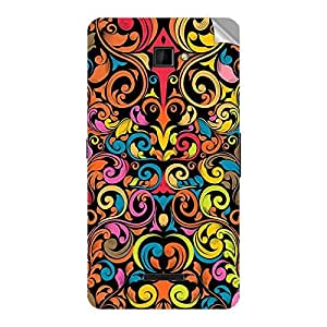 Garmor Designer Mobile Skin Sticker For Coolpad F1 8297 - Mobile Sticker