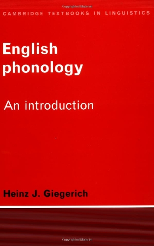 English Phonology: An Introduction (Cambridge Textbooks...