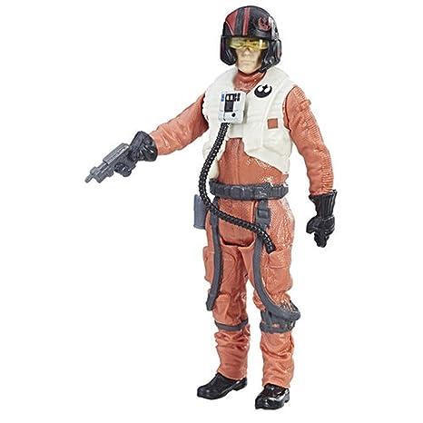 Hasbro – Star Wars : Les Derniers Jedi – Force Link – Finn (Resistance Fighter) – Figurine 9,5 cm