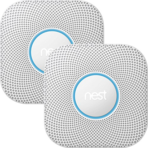 Nest Protect smoke & carbon monoxide alarm, Wired (2nd gen) Bundle - Two Nest Protects and $10 Amazon Gift Card (Nest Co Wired compare prices)