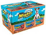 Mighty Dog Protein Packed Dinners Variety Pack (Beef,Chicken & Smoked Bacon Combo, & Lamb & Rice), 5.5-Ounce Cans (Pack of 24)