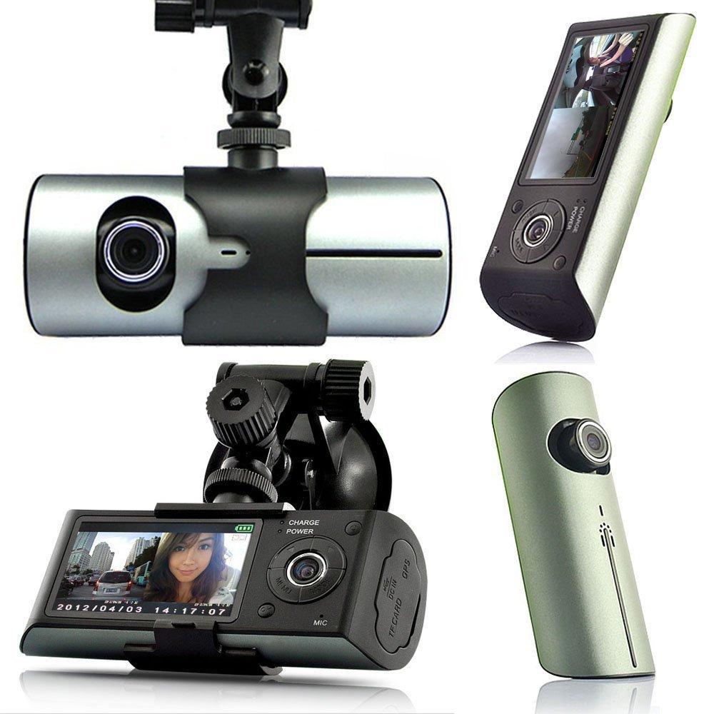 Chekue 2.7 HD Dash-Cam Dual Camera