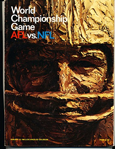 Superbowl 1 1967 world championship Football Program em (1967 Super Bowl Program compare prices)