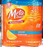 Metamucil Sugar Free – 46.6 oz Bottle (Pack of 2- 228 doses)