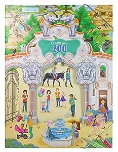 Depesche 7896 - Malbuch, Create your Zoo mit Stickern