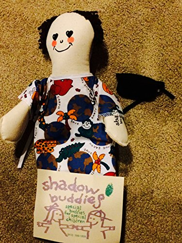 "Caucasian Girl Brown Hair 13"" Shadow Buddies Special Buddies for Special Children Doll"