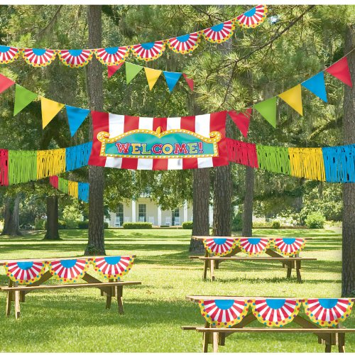 Giant Outdoor Carnival Decorating Kit Party Accessory