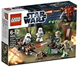 Toy - LEGO Star Wars 9489 - Endor Rebel Trooper & Imperial Trooper Battle Pack