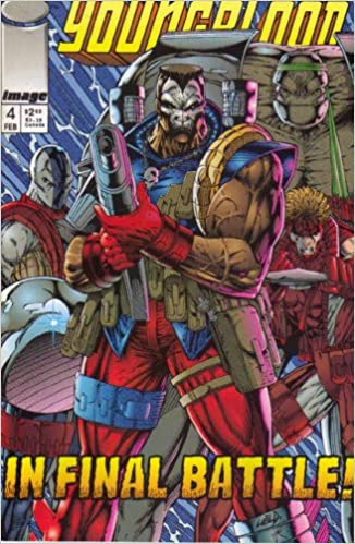 Youngblood in Final Battle #4  By Rob Liefeld