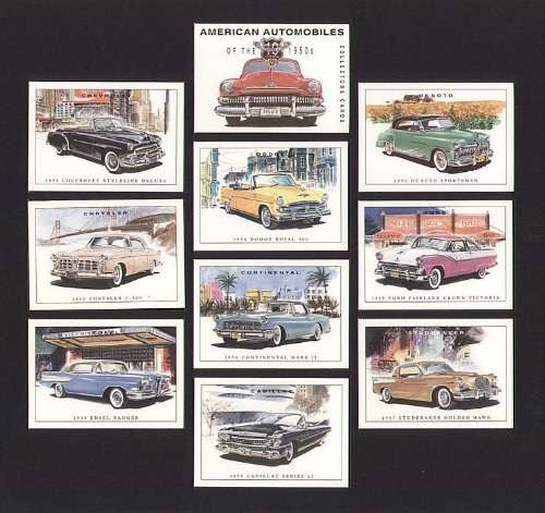american-automobiles-1950s-de-soto-sportsman-chevrolet-styleline-deluxe-dodge-royal-500-ford-fairlan