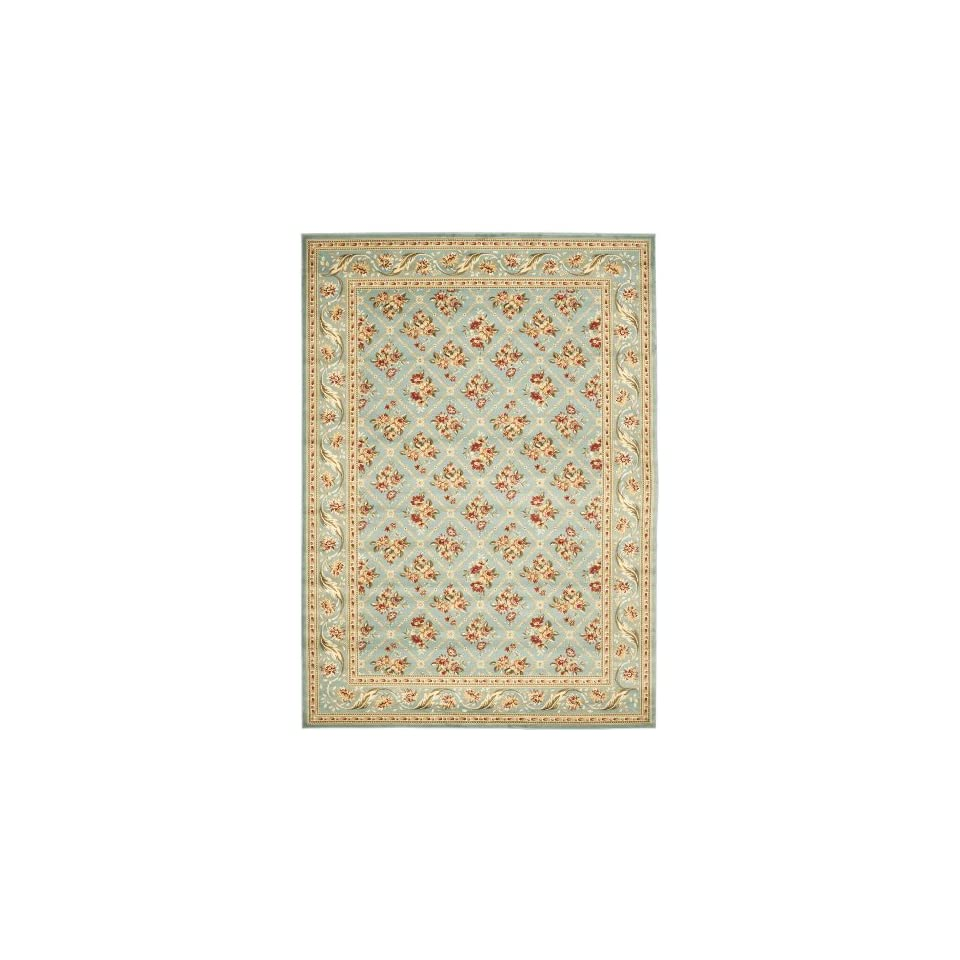 Safavieh Lyndhurst Collection LNH556 6565 Traditional Floral Trellis Blue Area Rug (67 x 96)