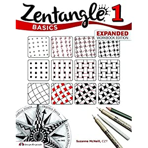 Zentangle Basics, Expanded Workbook Edition: A Creative Art Form Where All You Need is Paper, Pencil & Pen