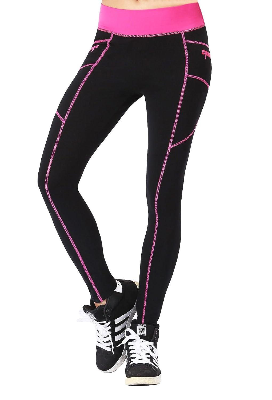 b4733670d4cc69 Neonysweets女性☆タイツ トレーニング フィットネス レギンス ラ