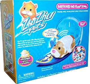 Zhu Zhu Pets Hamster Deluxe Accessory Kit Surfboard and Sleep Dome