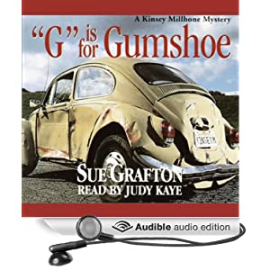 G is for Gumshoe: A Kinsey Millhone Mystery Sue Grafton and Mary Pfeiffer