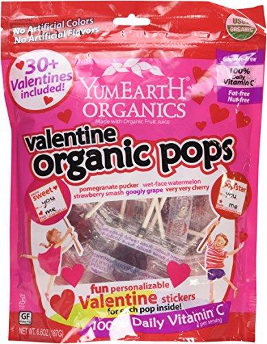 Romantic gifts for vegans: organic vegan pops