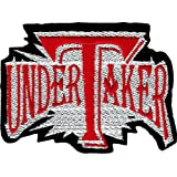 Wrestling - Undertaker Logo - Embroidered Iron On or Sew On Patch