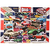Falcon de Luxe - Best of British 4 Vintage Cars Jigsaw Puzzle (1000 Pieces)