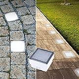 LED Pflasterstein Bodenleuchte Gartenstrahler Bodeneinbauleuchte Außenleuchte IP68 230V